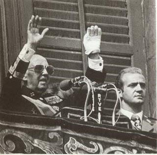 """Si, Fanco va inventar """"la ola"""" i Juan Carlos la va continuar..."""