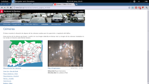Urquinaona / Via Laietana, 23:03h. (click per veure a mida original)